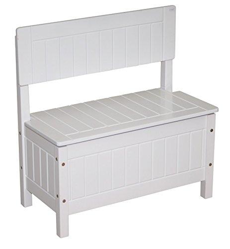 Spielzeugtruhe Kindertruhenbank Roba Aufbewahrungsbox neutral 5