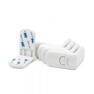 Schubladensicherung Schranksicherung ohne Bohren Kindersicherung Schrank Türen Schubladen Kühlschrank Toilette (1) mit deutscher Anleitung klein